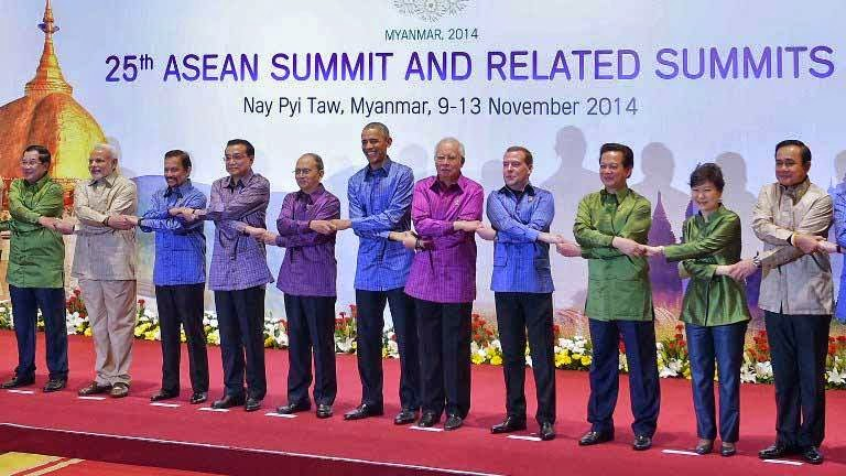 Asean summit. Nay Pyi Taw, Myanmar, 2014