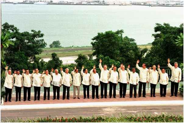 APEC Summit. Subic Bay (Filipinas) 1996