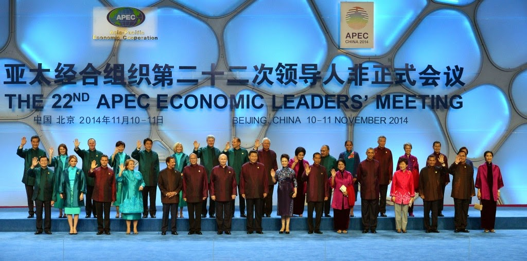 APEC summit. Beijing, China, 2014